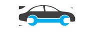 Logo - serwis samochodowy, stacja kontroli pojazdów