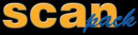 Logo dostawcy maszyn i akcesoriów pakujących - Scanpack