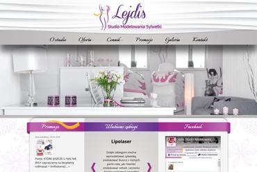 Strona www - Studio Modelowania Sylwetki Lejdis