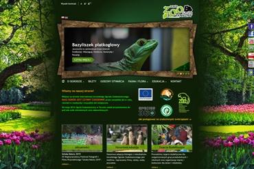 Strona www Zoo w Toruniu